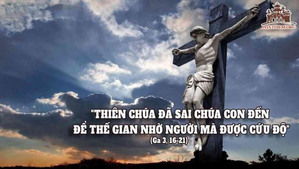 LỜI CHÚA CHÚA NHẬT TUẦN IV MÙA CHAY NĂM B 2021 (14/3/2021) – ( Ga 3, 14-21) –THÁNG KÍNH THÁNH GIUSE CHÚA NHẬT ÁO HỒNG