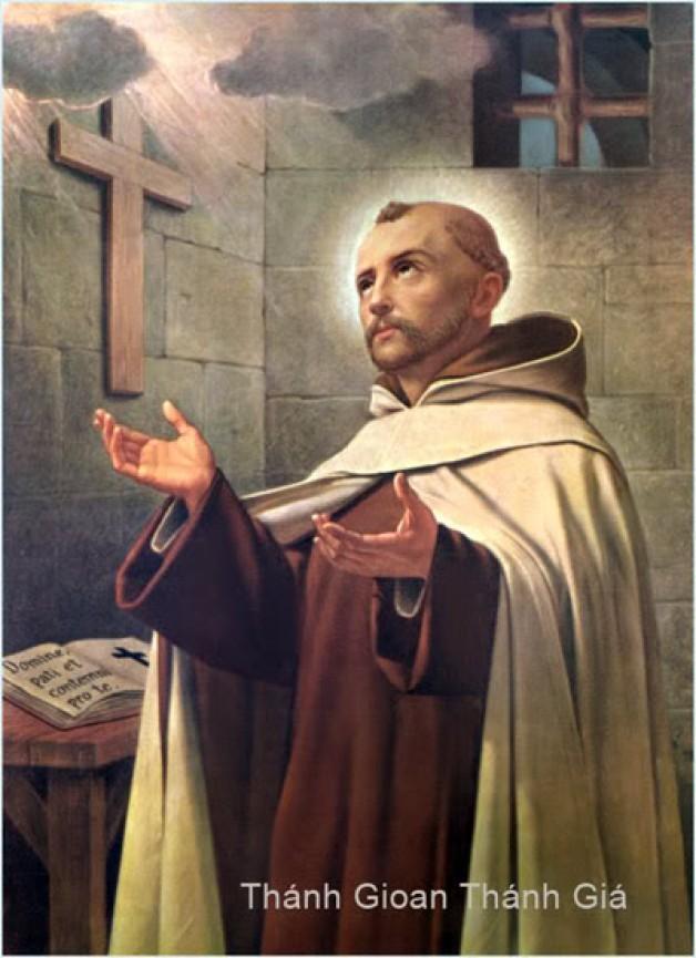 Kết quả hình ảnh cho Thánh Gioan Giuse Thánh Giá (1654-1734) - Ngày 5/3