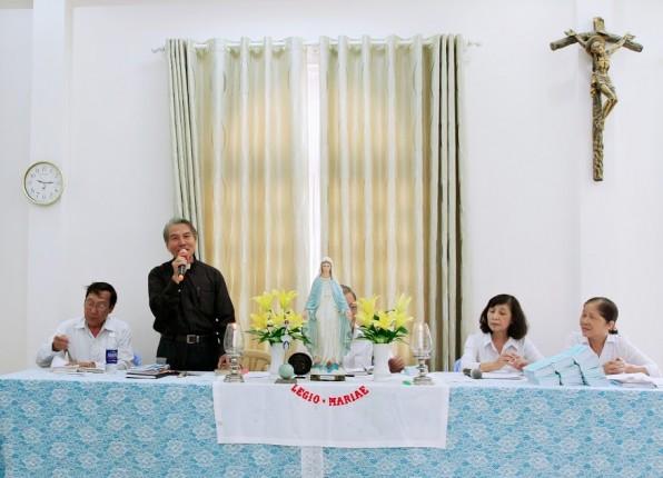 Chào mừng Cha An-tôn Nguyễn Đình Thục  Tân Linh Giám Hội Đồng Senatus Việt Nam