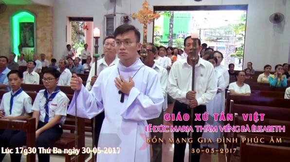 Video Lễ Đức Mẹ thăm viếng Bà Êlisabeth_Bổn mạng Gia đình Phúc Âm Tân Việt.