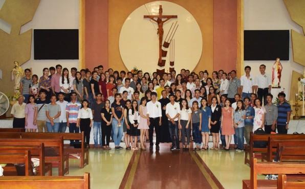 (Video ) Giáo xứ Tân Việt : Lễ Bế giảng Lớp Giáo Lý Hôn Nhân khoá 1/2017