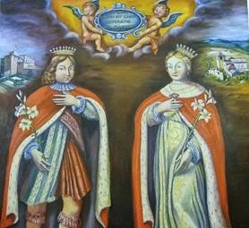 25 tháng 9 THÁNH ELZEAR VÀ CHÂN PHƯỚC DELPHINA (1286-1323) (1283-1358) -  GIÁO XỨ TÂN VIỆT