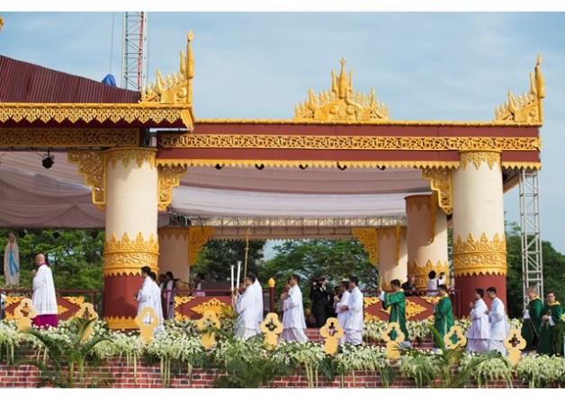 150 ngàn tín hữu Myanmar tham dự thánh lễ với Đức Thánh Cha - Ảnh minh hoạ 2