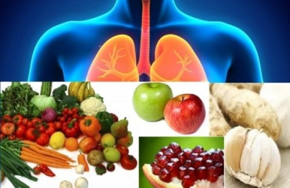 Những thực phẩm làm sạch phổi của bạn