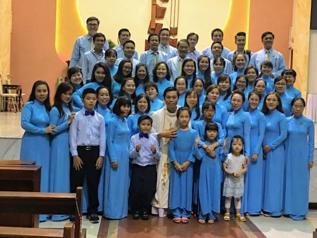 Giáo xứ Tân Việt: Lễ Đức Mẹ Vô Nhiễm