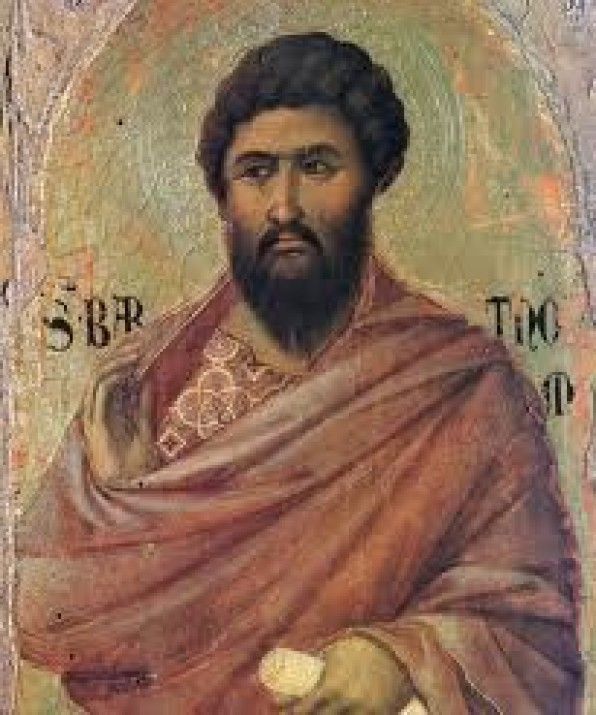 Ngày 24 Tháng Tám -Thánh Batôlômêô