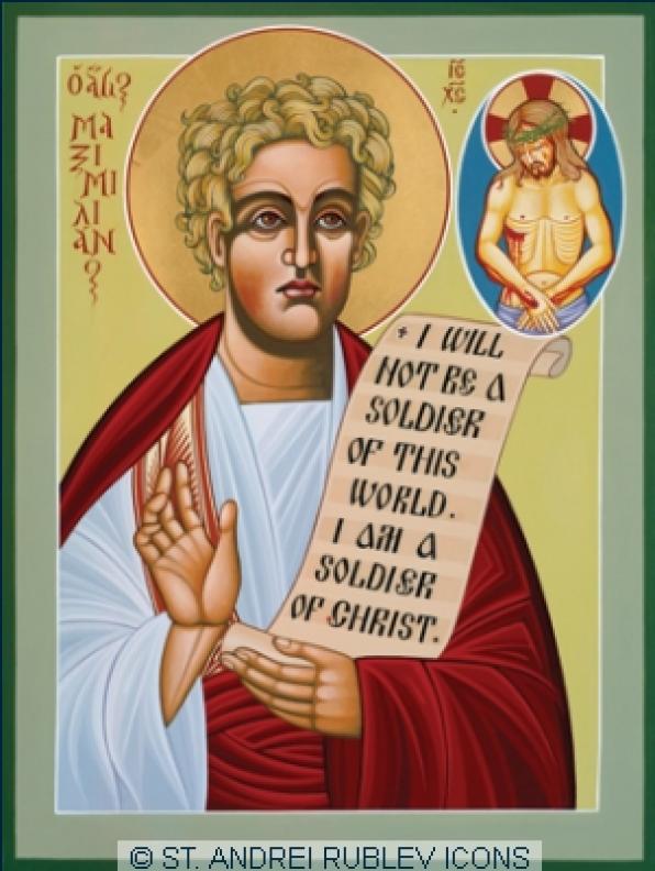 Ngày 14 Tháng 3 Thánh Maximilian (c.295)