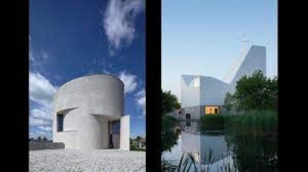 Những giải chung kết quốc tế được chọn về kiến trúc thiêng liêng