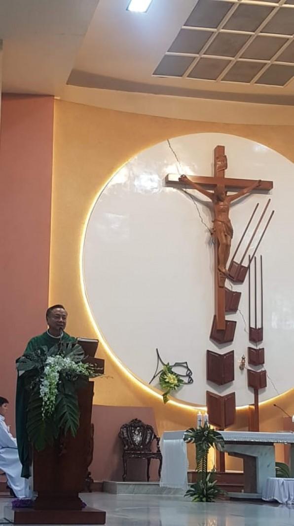 Bài Giảng Chúa Nhật XX IV Quanh Năm A Do Cha Chánh Xứ Đa Minh Vũ Ngọc Thủ Giảng Lễ