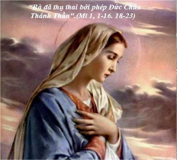 LỜI CHÚA THỨ BA TUẦN XXIII THƯỜNG NIÊN NĂM CHẴN 2020 SINH NHẬT ĐỨC TRINH NỮ MARIA – Lễ Kính (08/9/2018) – (Mt 1, 1-16. 18-23)