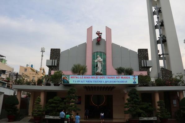 Giáo xứ Tân Việt Lễ Sinh Nhật Đức Trinh Nữ Maria
