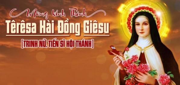 Thánh Têrêsa Hài Đồng Giêsu – Bổn Mạng Giáo Xứ Tân Việt