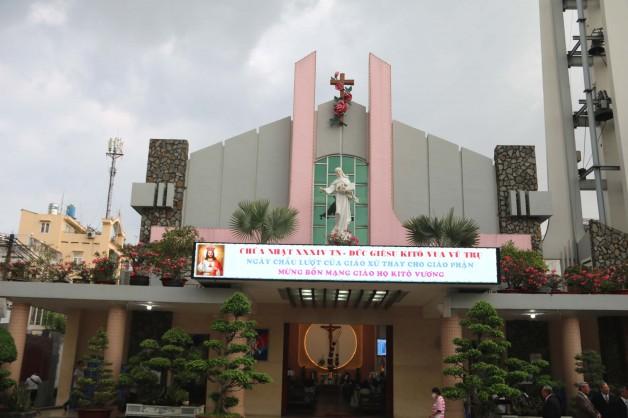 Giáo xứ Tân Việt: Bổn mạng giáo họ Kitô Vua