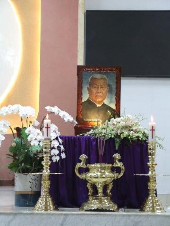 Giáo Xứ Tân Việt: Lễ giỗ 30 năm Cha cố Đa Minh Vũ Đức Triêm