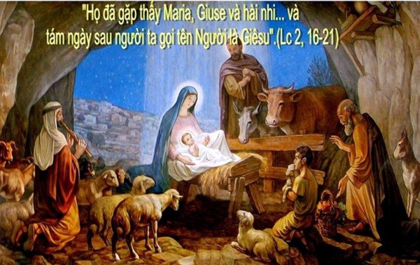 LỄ ĐỨC MARIA, MẸ THIÊN CHÚA – Lễ trọng TÂN NIÊN 2021 – TÊT DƯƠNG LỊCH 2021 NGÀY HÒA BÌNH THẾ GIỚI.