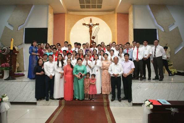 Giáo Xứ Tân Việt: Rửa tội dự tòng