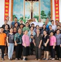 Giáo xứ Tân Việt: CĐ LTX thăm giáo điểm Lộc An, GP Phú Cường