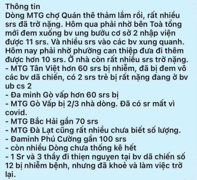 Thông Tin Các Dòng Tu Ở Việt Nam