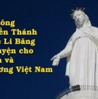 Tình thế cấp bách: 7g tối 18/8: Hiệp thông cùng Đền Thánh Đức Mẹ Li Băng cầu cho Sài Gòn và Việt Nam