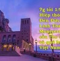 Hiệp thông cùng Đền Đức Mẹ Linh Thánh Montserrat cầu cho Sài Gòn và quê hương Việt Nam