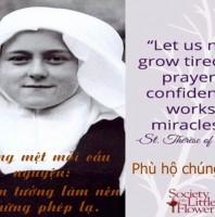 Mừng kính Thánh Têrêsa Hài đồng Giêsu  Bổn mạng Giáo xứ Tân Việt