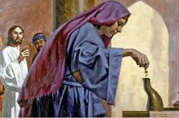 Đồng Xu của bà góa theo Tin Mừng Thánh Marco